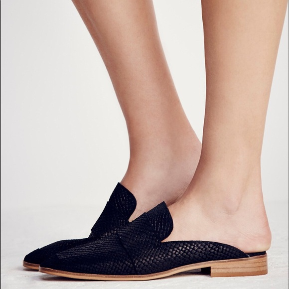 914a397784d Free People Shoes - At Ease Loafer Free People Black mules
